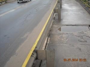 Rachaduras asfalto